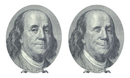 Benjamin Franklin Imágenes de archivo libres de regalías