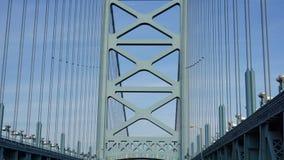 Γέφυρα του Benjamin Franklin στη Φιλαδέλφεια Στοκ εικόνες με δικαίωμα ελεύθερης χρήσης