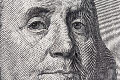 Benjamin Franklin Imagem de Stock Royalty Free