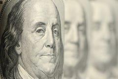 Benjamin Franklin imagenes de archivo