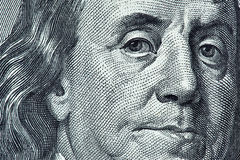 Benjamin Franklin photo libre de droits