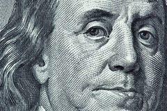 Benjamin Franklin Foto de archivo libre de regalías