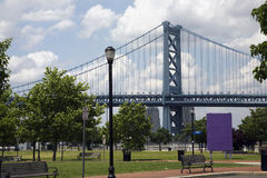 Benjamin Franklin Bridge Stock Images