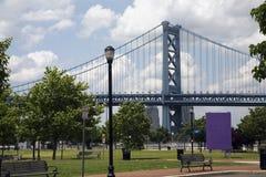 Benjamin Franklin Bridge. The Benjamin Franklin Bridge in Philadelphia, U.S.A Stock Images