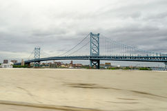 Benjamin Franklin Bridge, Royaltyfria Bilder
