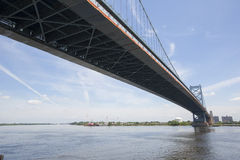 Benjamin Franklin Bridge Stock Fotografie
