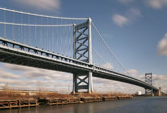 Benjamin Franklin Bridge Royalty Free Stock Photos