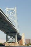Benjamin Franklin Bridge Royalty Free Stock Image
