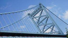 Benjamin Franklin Bridge in Philadelphia royalty-vrije stock afbeeldingen