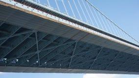 Benjamin Franklin Bridge in Philadelphia stock foto's