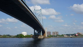 Benjamin Franklin Bridge in Philadelphia Stockfotografie