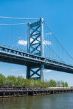 Benjamin Franklin Bridge Royalty Free Stock Photo