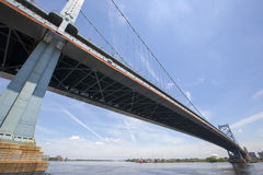 Benjamin Franklin Bridge Stock Photos