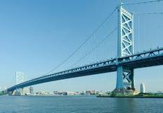 Benjamin Franklin Bridge. Philadelphia, Pennsylvania. Stock Image