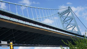 Benjamin Franklin Bridge in Philadelphia Stock Photography
