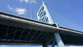 Benjamin Franklin Bridge in Philadelphia Royalty Free Stock Photography