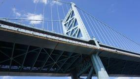 Benjamin Franklin Bridge in Philadelphia. USA Royalty Free Stock Photography