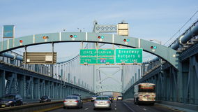 Benjamin Franklin Bridge in Philadelphia Stock Images
