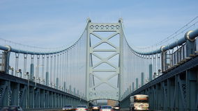 Benjamin Franklin Bridge in Philadelphia Royalty Free Stock Image