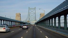 Benjamin Franklin Bridge in Philadelphia. USA Stock Photos