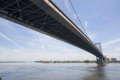 Benjamin Franklin bro Arkivbild