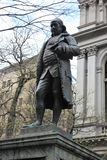 Benjamin Franklin, fuga da liberdade, Boston imagem de stock