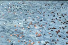 Free Benjamin Franklin Grave Royalty Free Stock Photos - 82719038