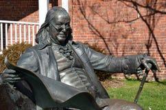 Benjamin Franklin, główna ulica, Smithfield, VA Fotografia Stock