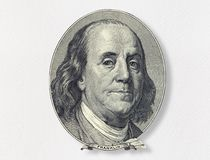 Benjamin Franklin fotos de stock