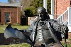 Benjamin Franklin, Main Street, Smithfield, VA Photographie stock libre de droits