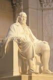 Benjamin Franklin Memorial, Franklin Institute, Filadelfia, Pensilvania Fotografia Stock Libera da Diritti