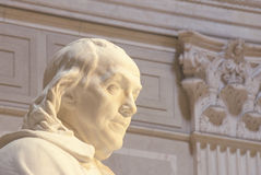 Benjamin Franklin Memorial, Franklin Institute, Philadelphie, Pennsylvanie Images stock