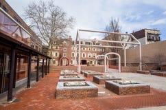 Benjamin franklin museum philadelphia. Benjamin Franklin Museum in Philadelphia royalty free stock image