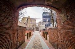 Benjamin franklin museum philadelphia. Benjamin Franklin Museum in Philadelphia royalty free stock images