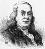 Benjamin Franklin, padre fondatore degli Stati Uniti, Illustrazione Vettoriale
