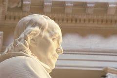 Benjamin Franklin pomnik, franklin institute, Filadelfia, PA Zdjęcie Stock