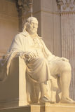 Benjamin Franklin pomnik, franklin institute, Filadelfia, Pennsylwania Fotografia Royalty Free