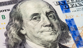 Benjamin Franklin portrait Royalty Free Stock Photography