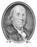 Benjamin Franklin Stock Photo