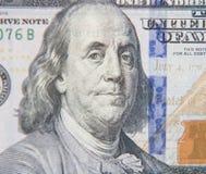 Benjamin Franklin portrait Royalty Free Stock Photo