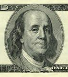 Benjamin Franklin president royaltyfria foton