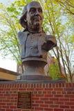 Benjamin Franklin Sculpture al cimitero della chiesa di Cristo in Filadelfia Immagine Stock Libera da Diritti