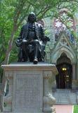 Benjamin Franklin sculpture in University of Pennsylvania Royalty Free Stock Photo