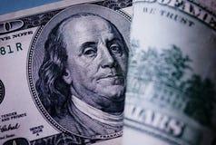 Benjamin Franklin stående Arkivfoto