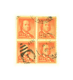 Benjamin Franklin stamps Royalty Free Stock Photography
