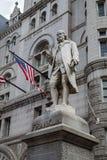 Benjamin Franklin statua, Stary urzędu pocztowego budynek, Waszyngton, DC zdjęcie stock