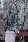 Benjamin Franklin Statue Photographie stock