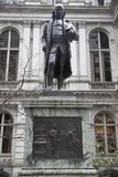 Benjamin Franklin Statue - Boston, Massachusetts, USA royalty free stock images
