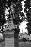 Benjamin Franklin statue in Washington Square in San Francisco, Stock Image