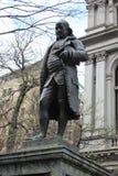 Benjamin Franklin, traînée de liberté, Boston image stock